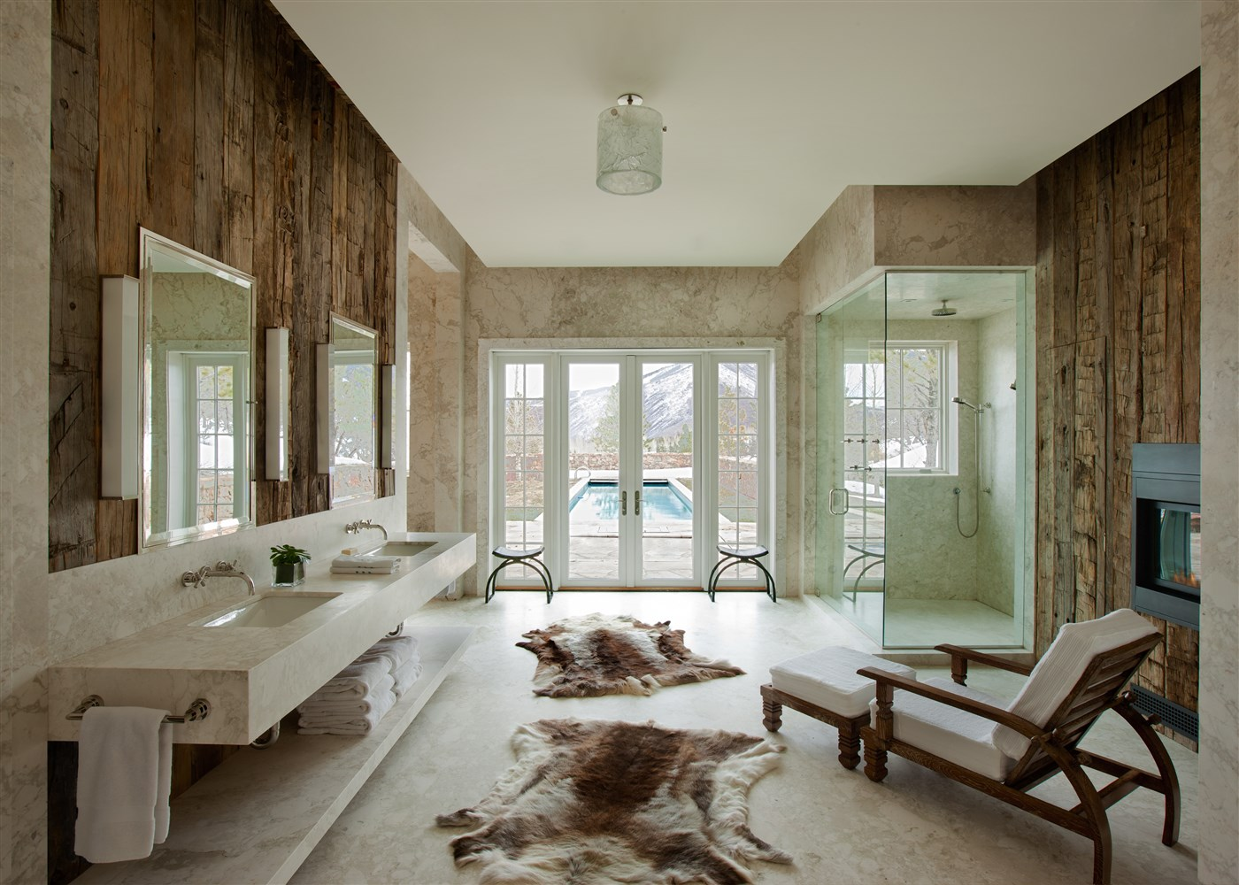 If we had a bathroom like the ones in the pictures, there would be no need for having other house ...