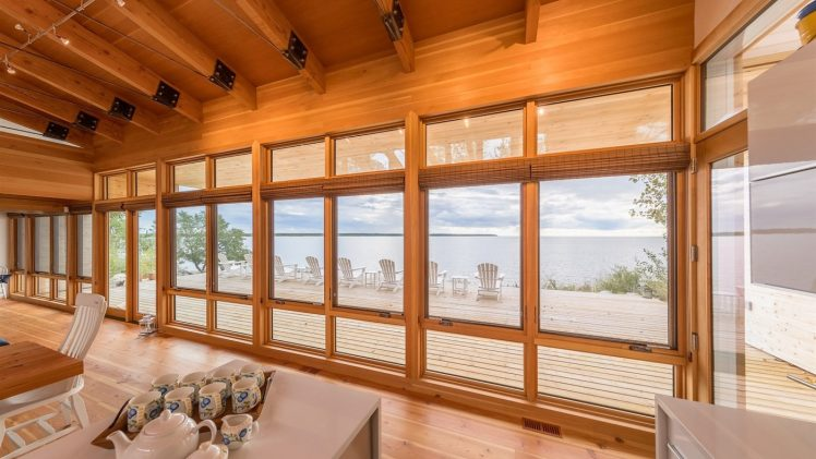 Fully exposed to spectacular sunsets and impressive thunderstorms, the Beach House embraces the prairie skies and changing waterscapes. This 2,000-square...