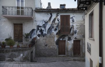 From April to June, five artists from four different countries visit the small village in the Italian region of Molise ...
