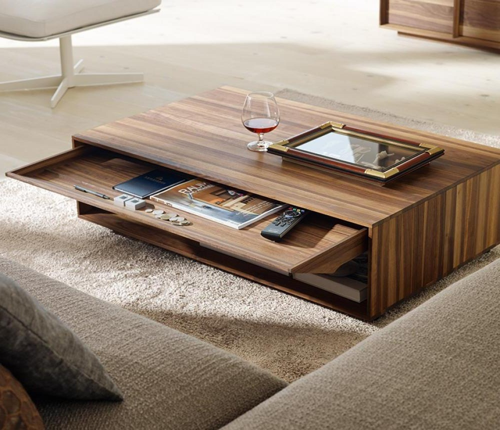 Cozy wood coffee table design ideas