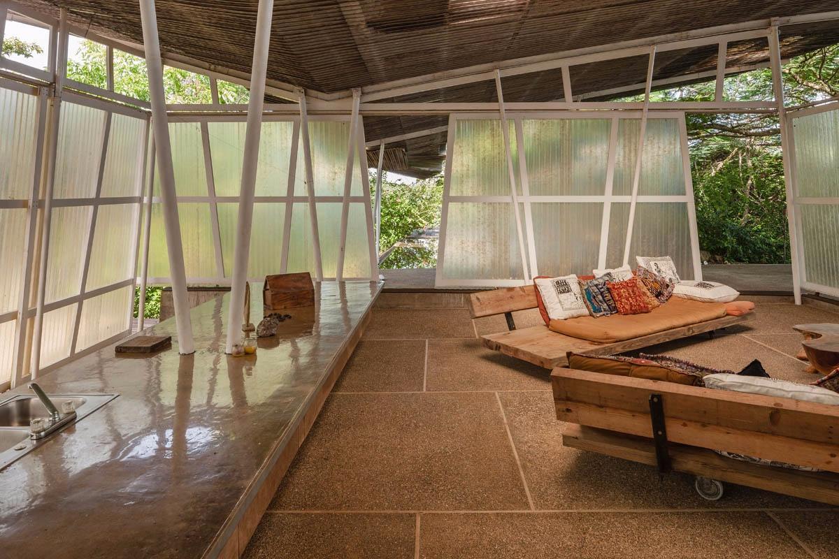Wood bench design ideas, living room