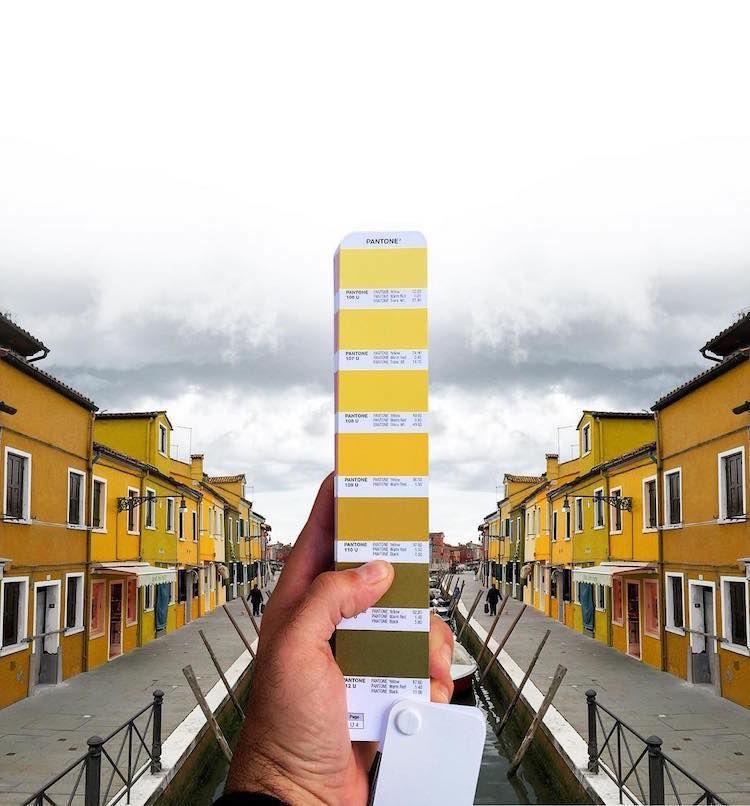 Pantone Colour Swatches, designer, photography, woodz, yellow district