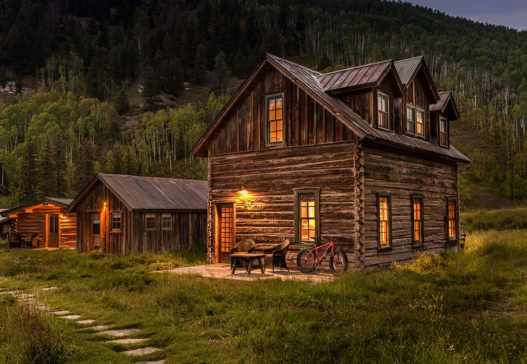 cozy wood cabin design ideas