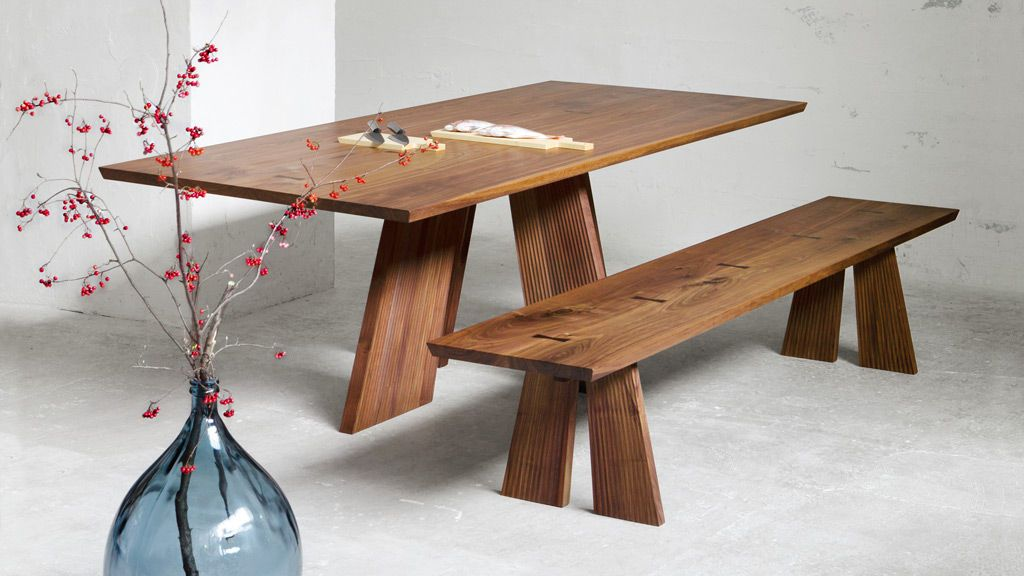 Wood modern table design ideas