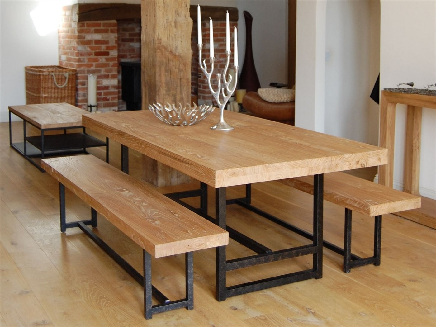 Wood dining table design ideas