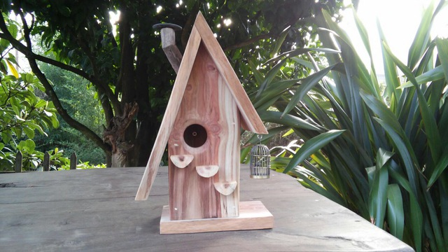 redwood sequoia sempervirens, bird house, woodworking, woodz, innovative, wood, creativity, stories, woodz stories