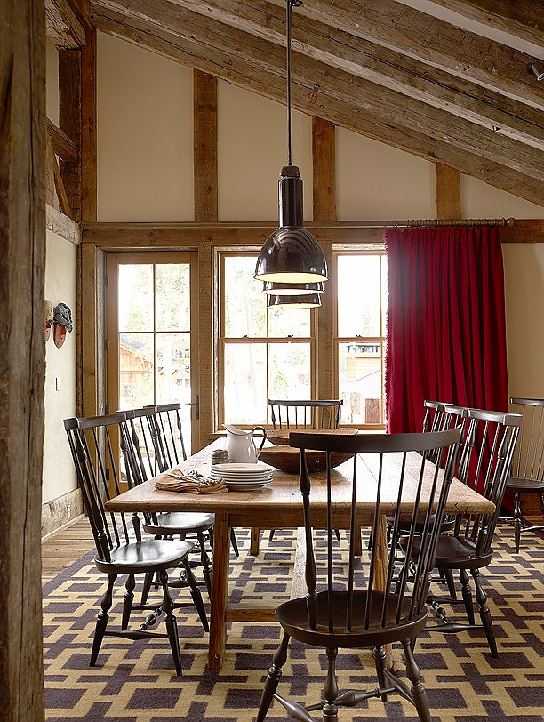wood dining room design ideas