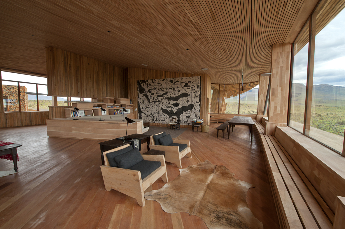 wood ceiling, wall and floor, living room