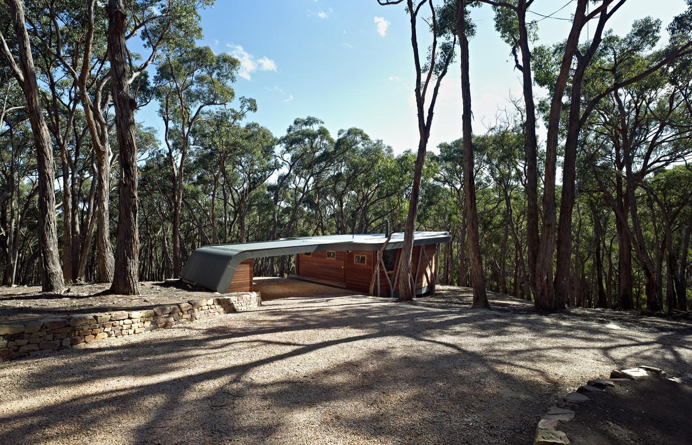 wood cabin, outdoor