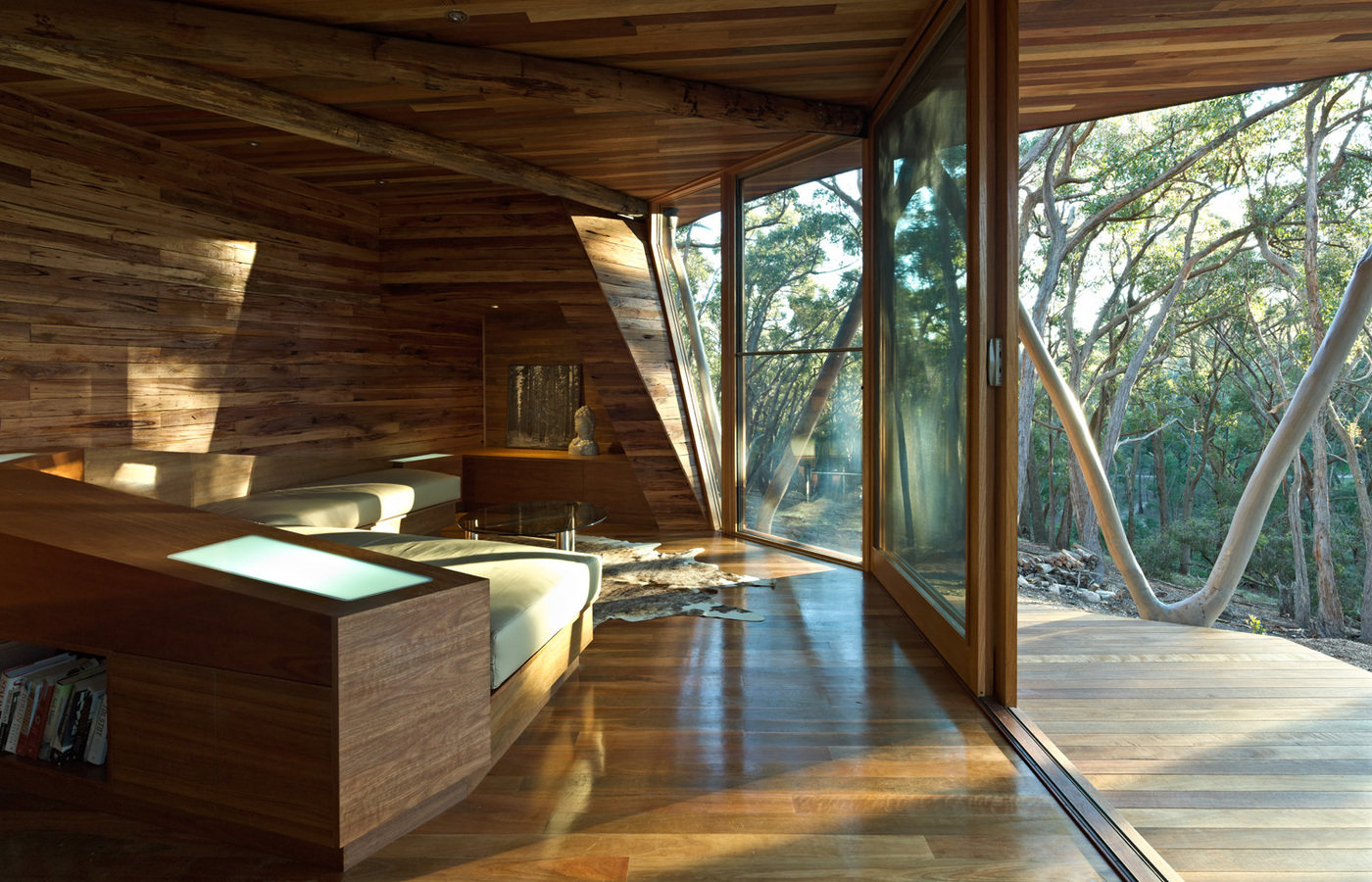 wood ceiling and floor, cabin cozy interior