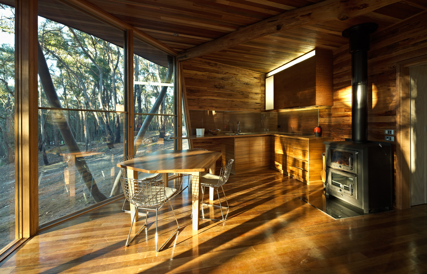 This project is a small cabin in Victoria's Central Highlands. It set out to answer a simple question – how ...