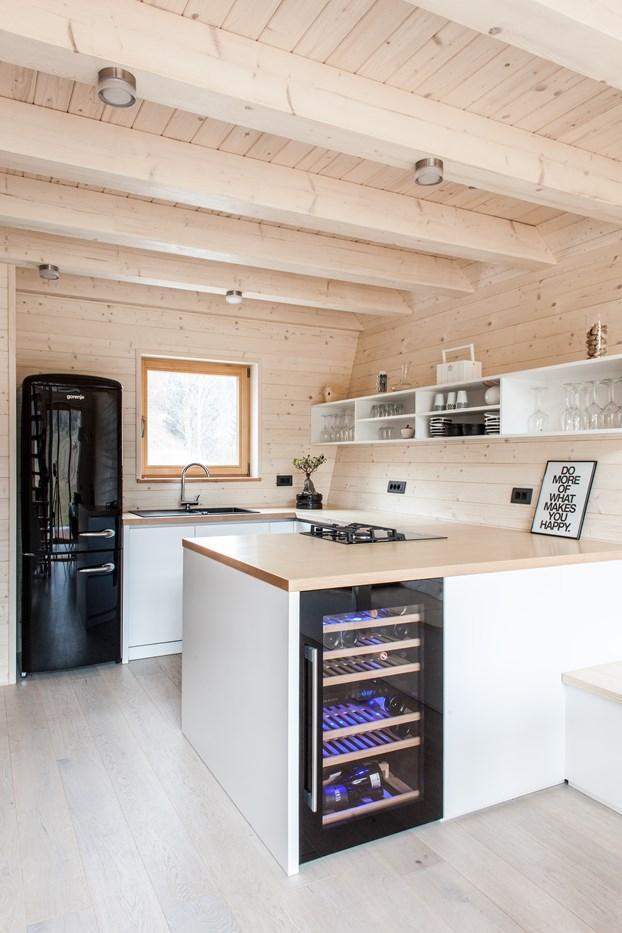 wood kitchen interior design