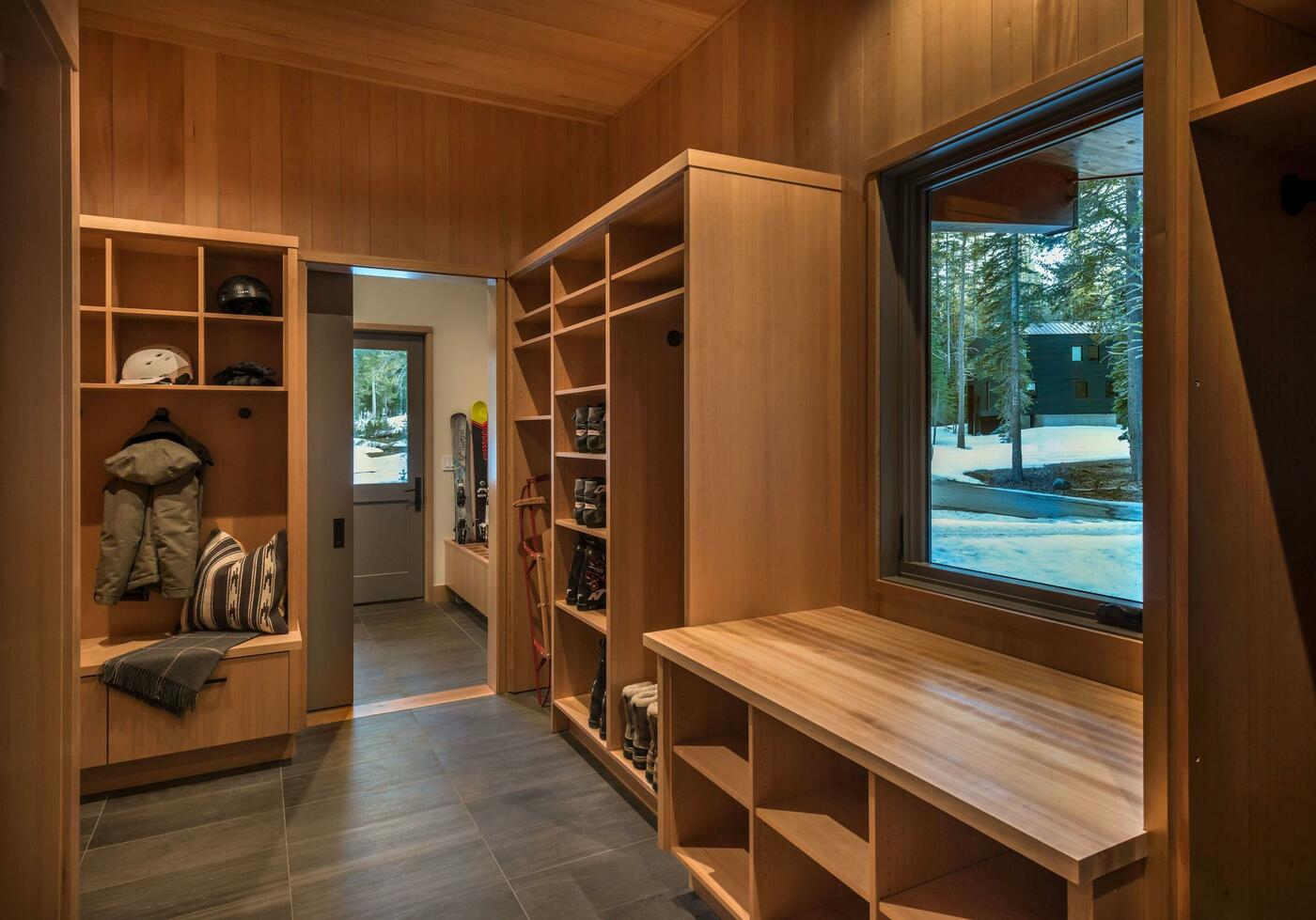 wood storage design