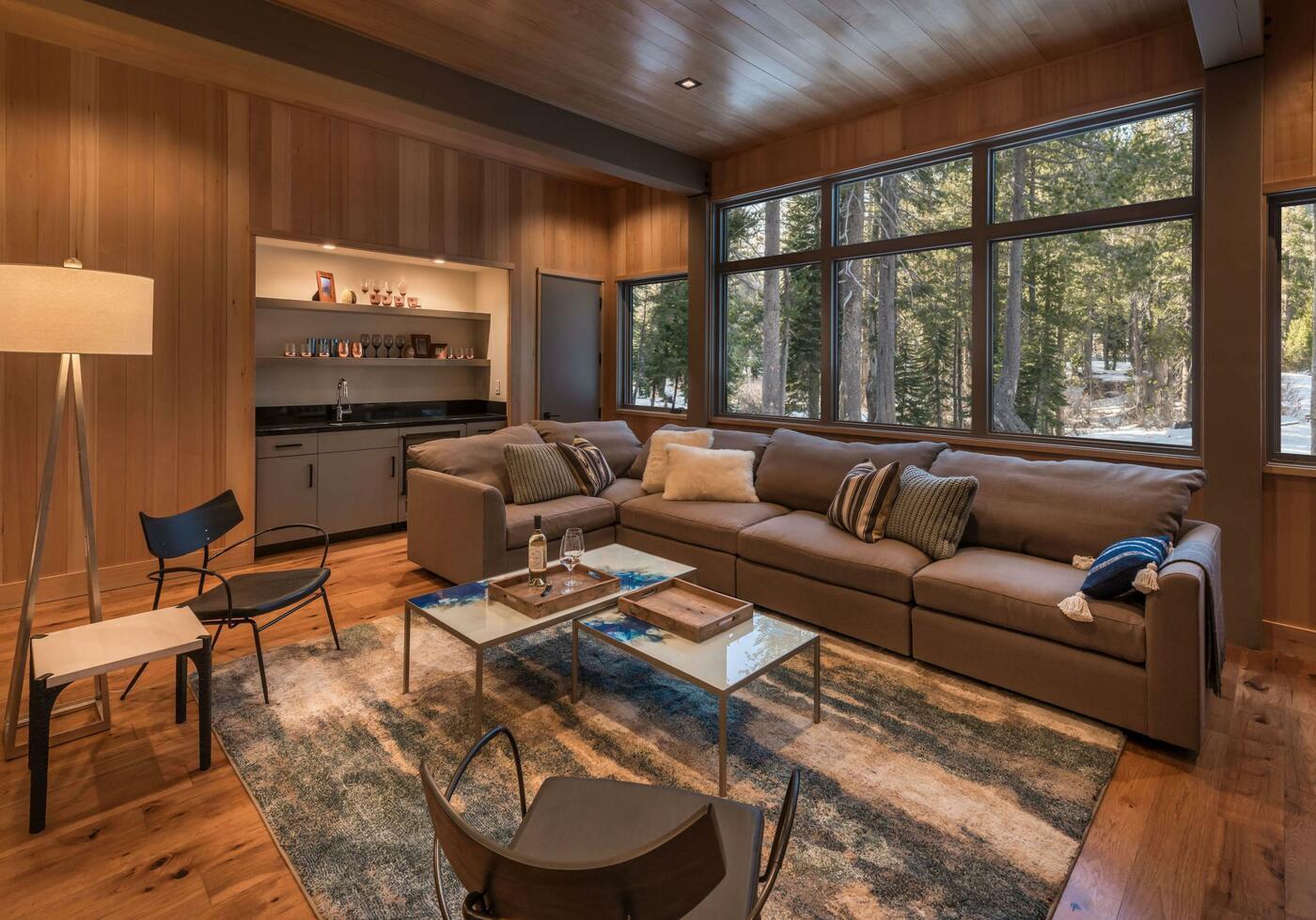 Cozy living room, cabin design ideas