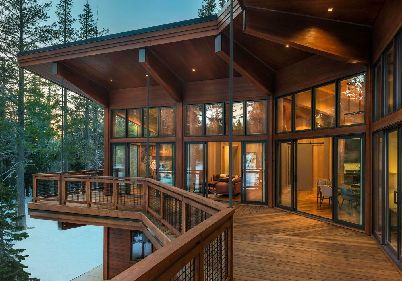 Cabin exterior design ideas