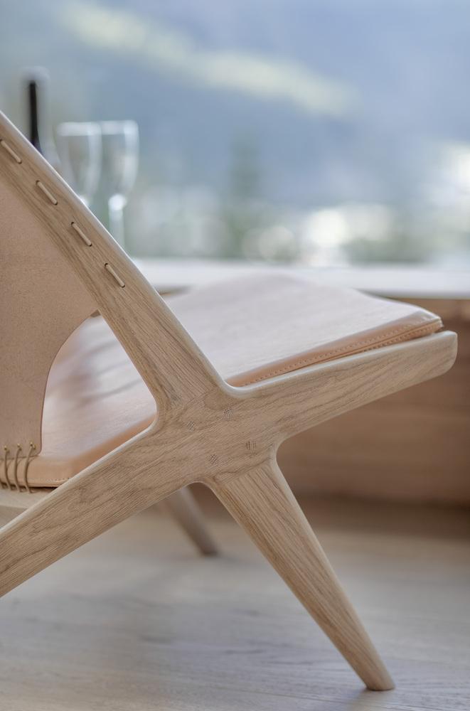 Wood chair design